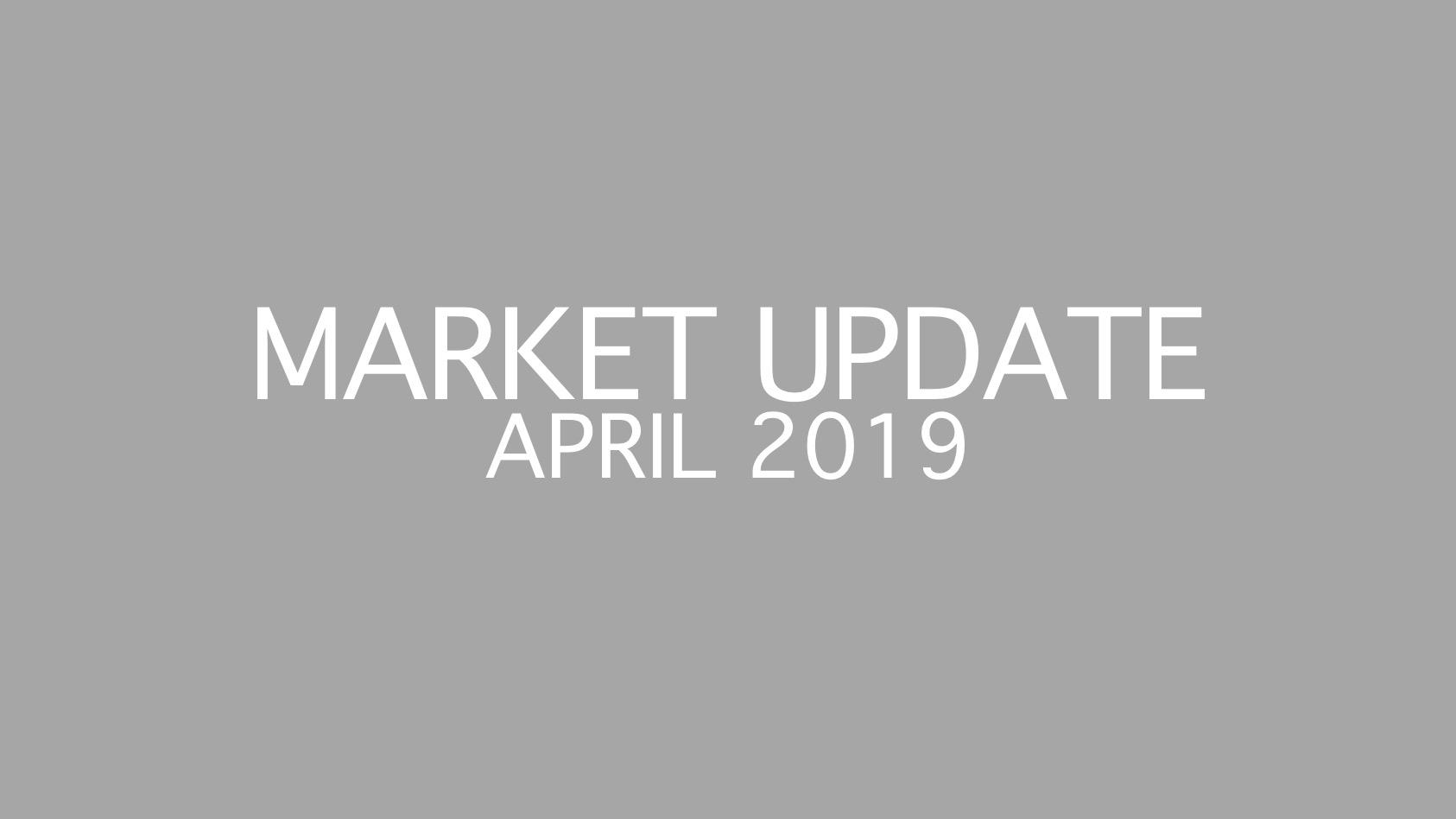 Peak season is here! April 2019 Real Estate and Mortgage Flash Report