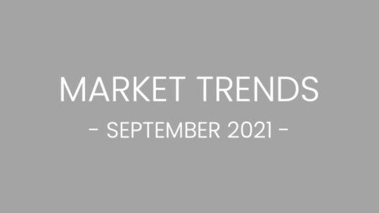 SEPTEMBER 2021 REAL ESTATE AND MARKET TRENDS